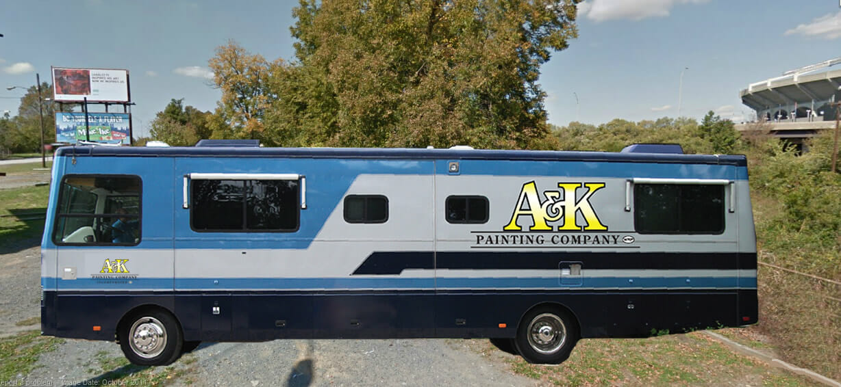 The A&K Painting Co. 'A-Train'