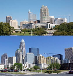 Raleigh and Charlotte Rankings Good for CRE and Construction Industry