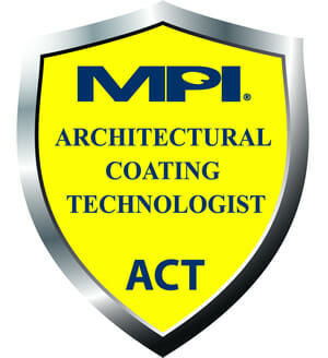 MPI Architectural Coating Technologist Seal for MPI Certified Individuals