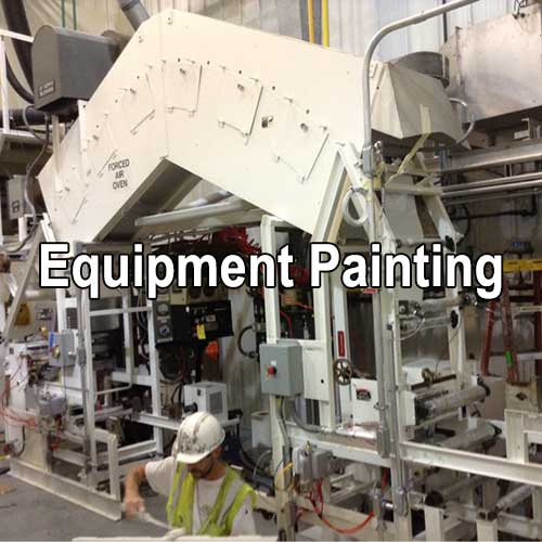 Equipment Painting by A&K Painting Company