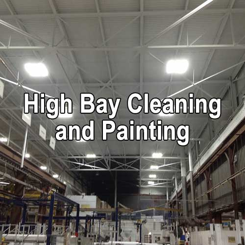Industrial High Bay Cleaning and Painting