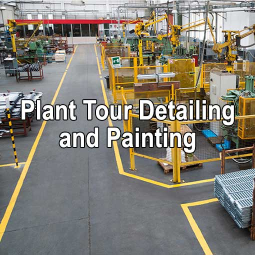 Plant Tour Detailing and Painting