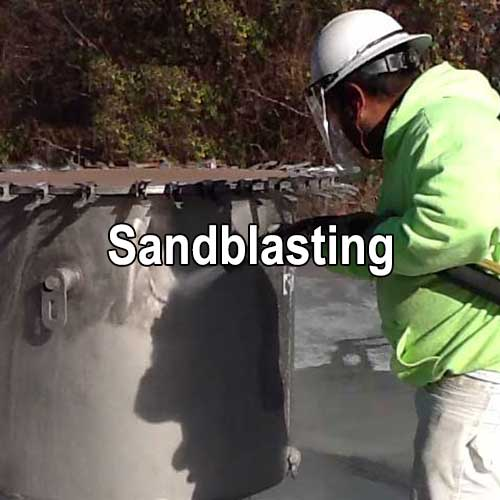 Sandblasting Slurry Blasting and Specialty Blasting by A&K Painting Company
