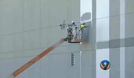 A&K Painting Finishes Amazon Distribution Center in Concord