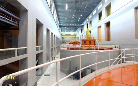 Power Plant Generator Room