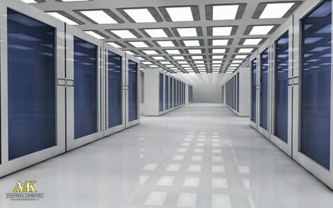 Server Room Epoxy Flooring System