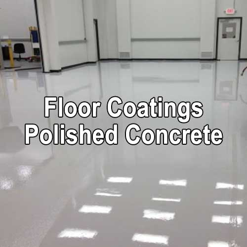 Floor Coatings and Polished Concrete by A&K Painting Company