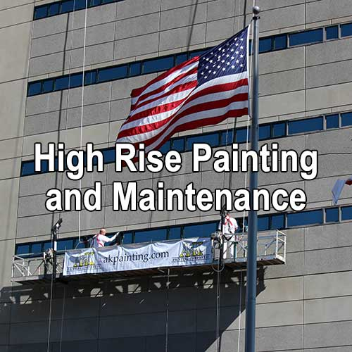 High Rise Painting and Maintenance by A&K Painting Company