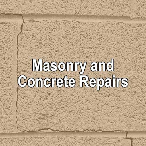 Masonry and Concrete Repairs by A&K Painting Company