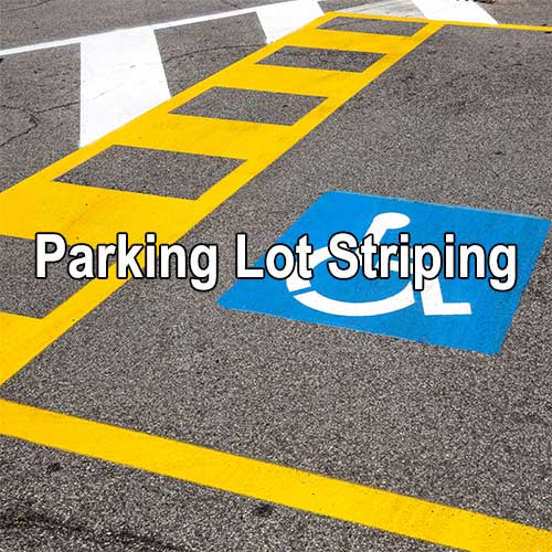 Parking Lot Striping by A&K Painting Company
