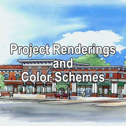 Project Renderings and Color Schemes by A&K Painting