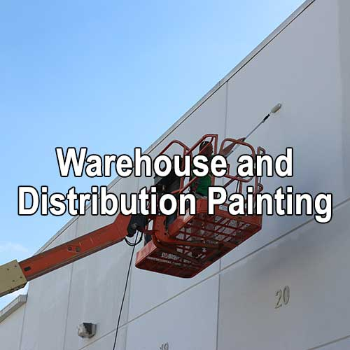 Warehouse and Distribution Painting by A&K Painting Company