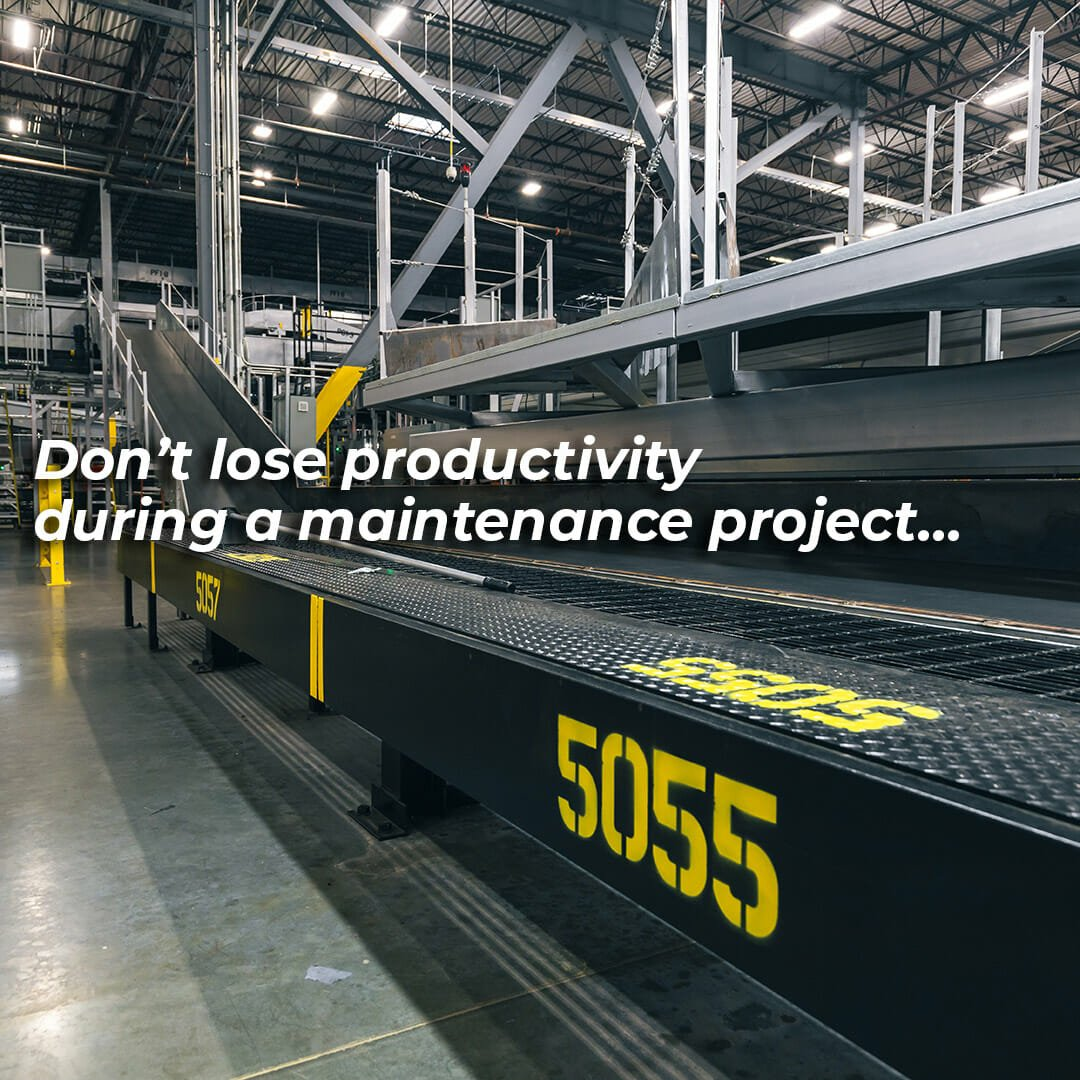 Painting Your Manufacturing Facility Without Stopping or Slowing Production